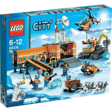 LEGO CITY Arktis Basislager 60036