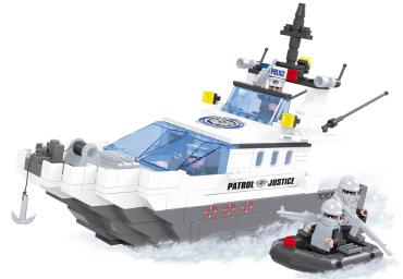AUSINI – Polizei Einsatzboot mit...