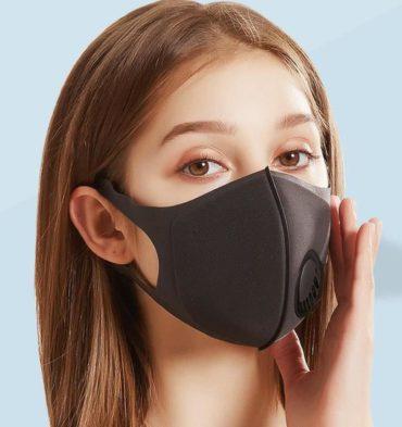 Atemschutz Maske waschbar & bequem...
